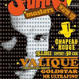 Valique for GrundFunk radio show Prague special dj set