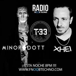 T33 PODCAST - Minor Dott @ Fnoob Radio ft- XHEI (Argentina) February 11,2016