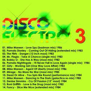 DISCO ELECTRO 3 - Various Original Artists [electro synth disco classics] 70s & 80s