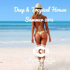 Deep & Tropical House Mix Summer 2015 #3 NewHouZe