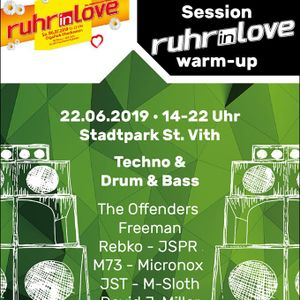 live from Ruhr in Love Warm Up 2019 - St Vith