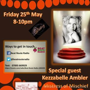 Weekend Warm Up 25 05 2018 with Special guest Kezzabelle Ambler.