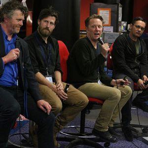 Panel: On NZ comics with Jonathan King, Tim Gibson, Matt Emery and Tim Bollinger