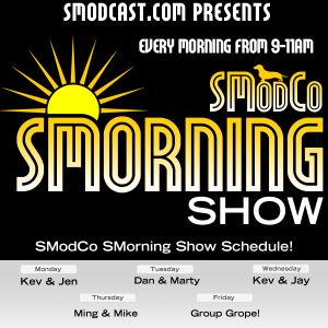 #72: Wednesday, August 31, 2011 - SModCo SMorning Show