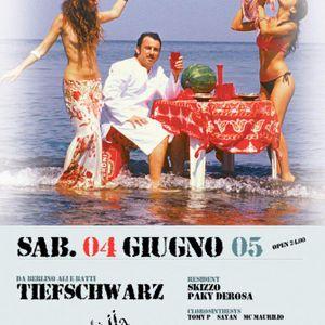 04-06-05 THE FLAME - CD4 - CLOROPHILLA - Tiefshwarz & DJ Skizzo