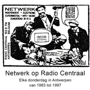 Netwerk, radiointerview mailart en communicatie. Eindwerk Patrick Stevens.