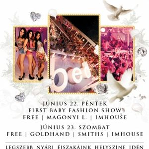 Smiths & Dj Free & Imhouse & Goldhand - Live @ Bed Beach Budapest 2012.06.23.