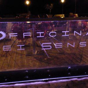 Antonio Pedone dj live @ OFFICINA DEI SENSI- SPERLONGA (LT) Sabato 28.07.2012 Part 2
