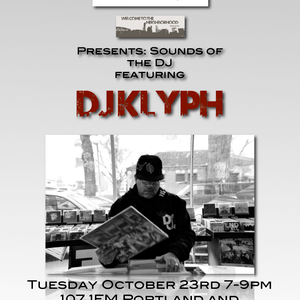 Mix from the DJ Klyph presents: Sounds of the DJ series Oct. 2012 on 107.1FM KZME