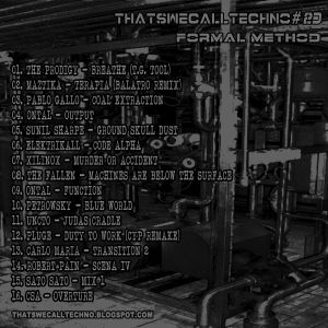 Thatswecalltechno023-Formal Method