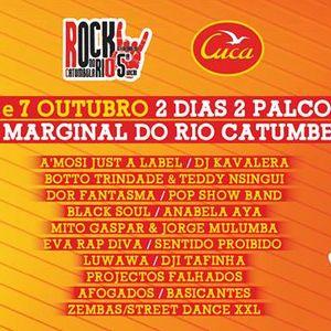 Carlos Bessa 5º Rock no Rio Catumbela 06 & 07/10/2017 Muzangolarock | 30/09/2017 - LAC Luanda Angola