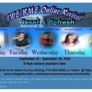 BWE Reset &. Refresh Revival - Day 3