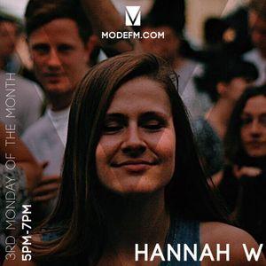 16/09/2019 - Hannah W - Mode FM