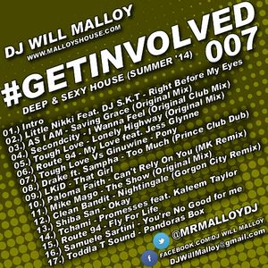 #GETINVOLVED 007 (DEEP & SEXY HOUSE (SUMMER '14)