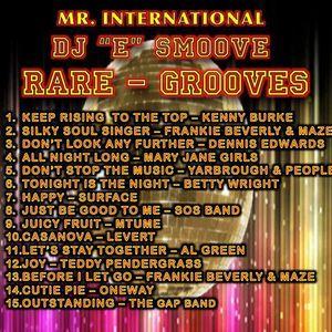 DJ E SMOOVE PRESENTS - RARE GROOVES VOL. I