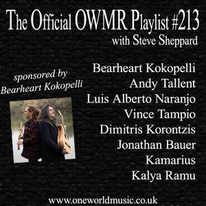 Playlist #213 Sponsored by Bearheart Kokopelli