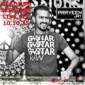 Praveen Jay - Live Set @ Negombo Sessions [10.10.15]