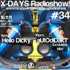 X-DAYS Radioshow! #34 - aUtOdiDakT