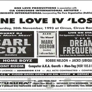 Carl Cox - Circus Circus - 1993 - Part 2