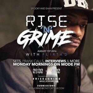 08/08/2016 - Rise'n'Grime w/ Spooky & Shan ft. Flirta D - Mode FM (Podcast)