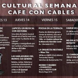 Agenda Cultural en #CCC 12/7