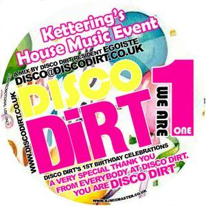 Disco Dirt Promo Mix Vol.9 Egoiste (June 2009)