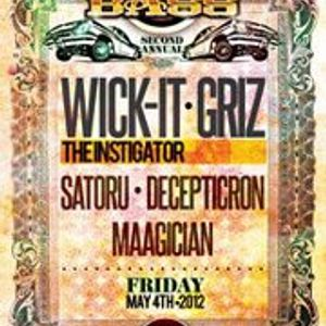 Maagician Live Opening for Wick-It & Griz at New Earth 5.4.2012