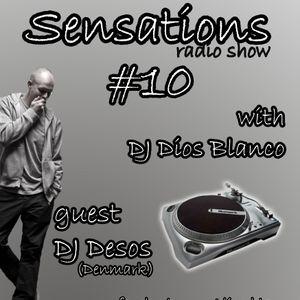 Dios Blanco - Sensations #10 (13.06.2012)