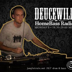 Deucewild - HomeBASS Radio 21 March 2016 on Jungletrain.net