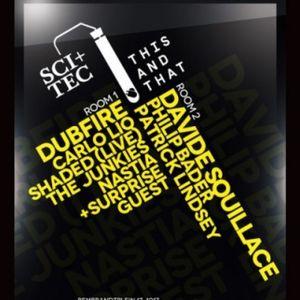 Dubfire - Live @ SCI TEC + This and That, Studio 80, Amsterdam Dance Event, Holanda (17.10.2012)
