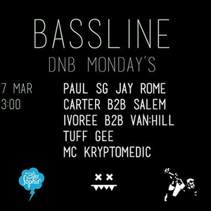 JAY ROME & MC KRYPTOMEDIC @ MONDAY´S BASSLINE - VIENNA