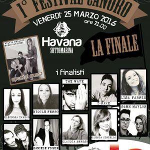 1° Festival Canoro Havana Chioggia Sottomarina 2016