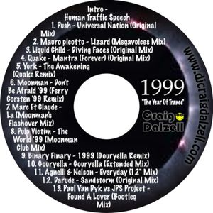 '1999' The Year Of Trance | Mixed By Craig Dalzell (Remastered)