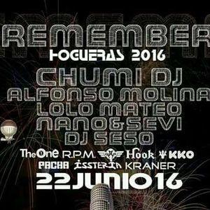 REMEMBER HOGHERAS ALICANTE 2016. PACHA-ISSTERIA. ALFONSO.MOLINA