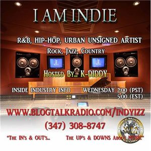 I AM INDI TODAY'S GUEST CHARLIE MAC HOSTED BY LAMONT KDIDDY PATTERSON