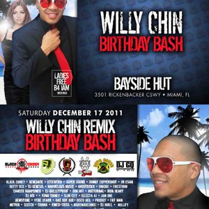 Willy Chin Birthday Bash Promo