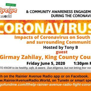 Coronavirus Special 42 - Girmay Zahilay