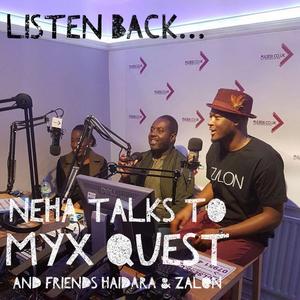 Neha talks to Myx Quest, Haidara & Zalon