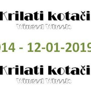 014 - Krilati kotaci (12-01-2019) radio show