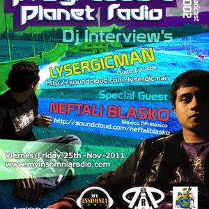 Lysergicman - Progressive Planet Radio Broadcast #002 Nov 2011