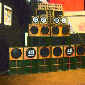 48 Roots session - 48 Roots meets Jah Observer 15th Oct 2011