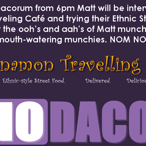 Cinnamon Traveling Cafe Meena & Kim on Radio Dacorum