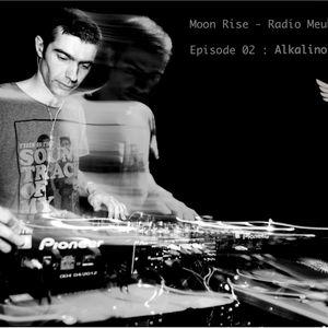 Alkalino Moon Rise Podcast for Radio Meuh
