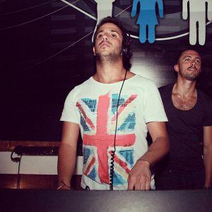 Ronin & Nesta warm-up for Marco Carola @ B 018 - 22/06/2012