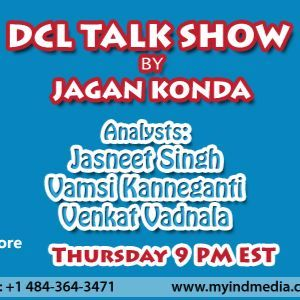 June 16th 2016 DCL Talk show by Jagan Konda and Analysts