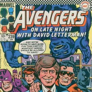 11 - Avengers #239 - The First Appearance Of David Letterman