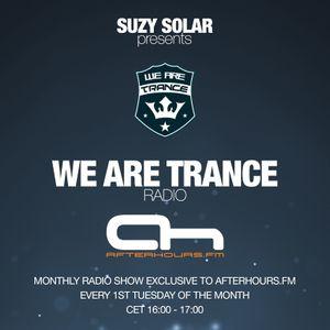 Suzy Solar presents We Are Trance Radio 025 on AH