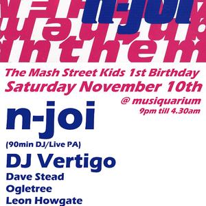Damon Waugh - Mash Street Kids 1st Birthday - 10th Nov 2012