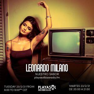 23.02.21 NUESTRO SABOR - LEONARDO MILANO (DJ SAX)