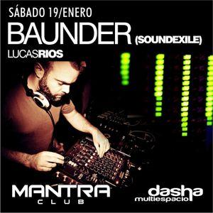 Mantra Club Podcast #10 - Baunder (Soundexile)